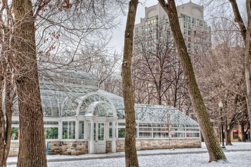 Allan Gardens:  Children's Conservatory, Carlton and Sherbourne, Toronto.  Photo © 2014 by David Roddis.  Please use attribution.